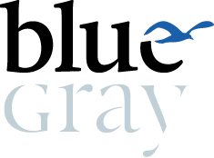 Bluegray Branding und Design Logo