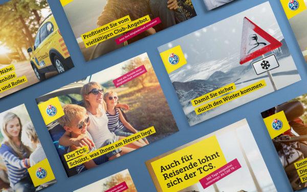 Werbekampagne / Mailings TCS