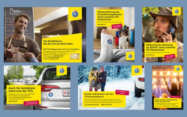 Werbekampagne / Inserate TCS