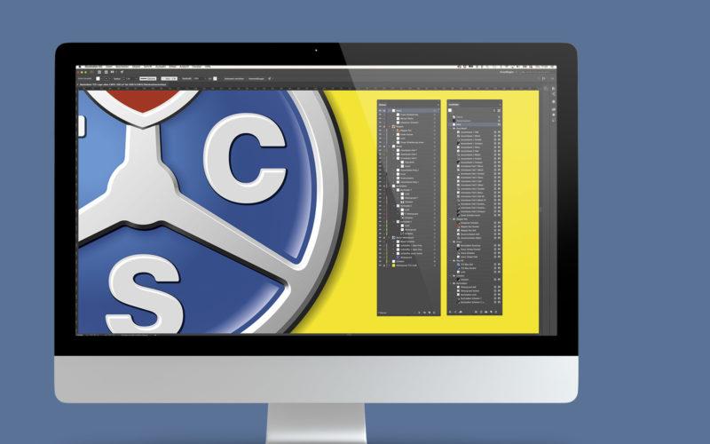 Logodesign für den TCS