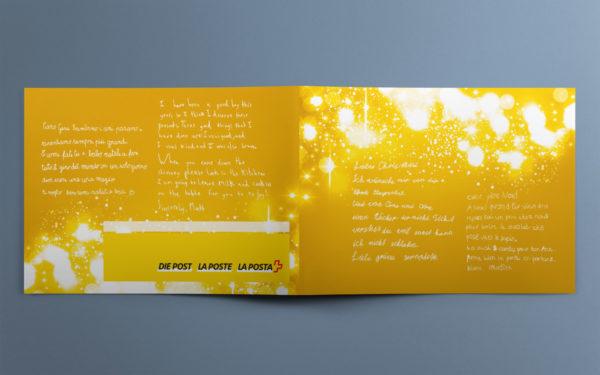 Neujahrskarte Post