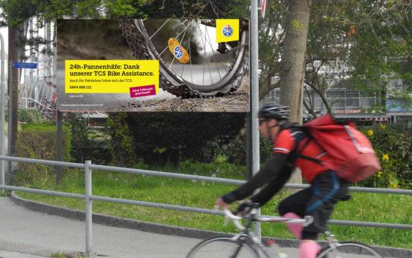 Werbekampagne / Plakat TCS