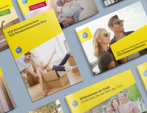 Printmedien-Konzept TCS