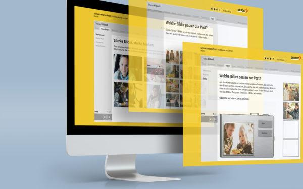 Design des Web-Based-Training der Post